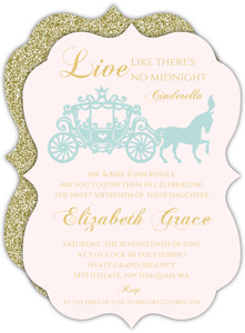 Royal Ball Sweet Sixteen Birthday Invitation