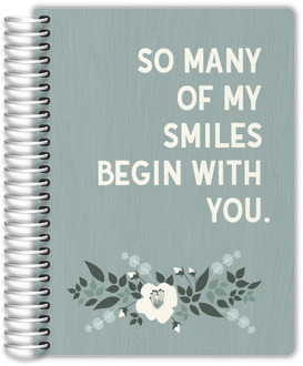 So Many of my Smiles Begin with You Wedding Planner