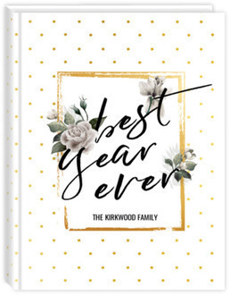 Faux Gold Best Year Ever Mom Planner