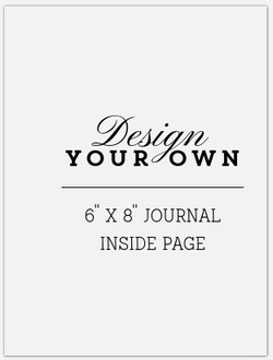 Design from scratch 6x8 journal IP