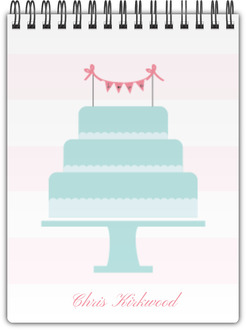 Wedding Cake Notebook