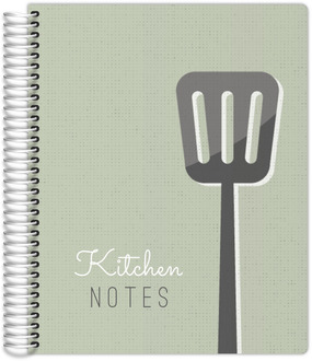 Vintage Kitchen Notes Custom Journal
