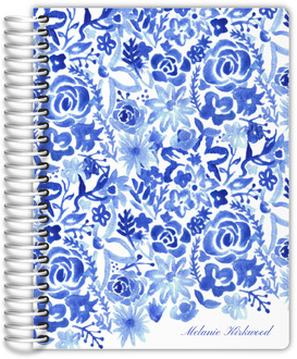 Cascading Handpainted Floral Mom Planner