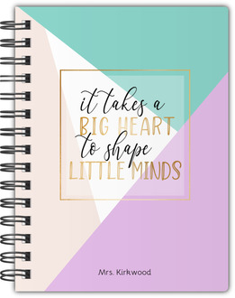 Big Heart Little Minds Notebook