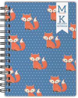 Cute Fox Notebook