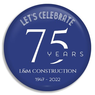 Elegant Anniversary Celebration Custom Business Button
