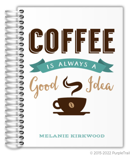 Coffee Lover Custom Journal