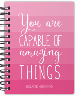 Capable of Amazing Things Notebook