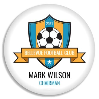 Soccer League Custom Button