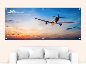 Full Photo Advertising Business Banner