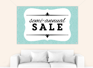 Custom Sale Business Banner