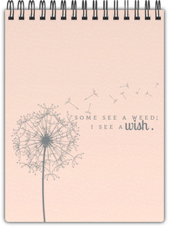 Graceful Wishes Notebook