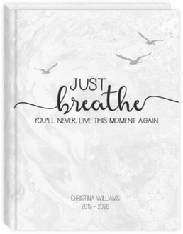 Just Breathe Daily Sewn Planner