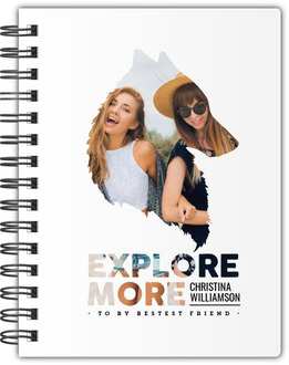 Explore More Custom Photo Notebook