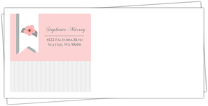Light Pink Flower Full Envelope