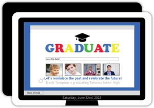 Computer Tech Graduation Save The Date Announcement