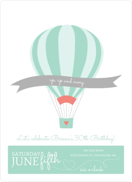 Up up air balloon birthday party invitation 30th birthday invitations up up air balloon birthday party invitation filmwisefo