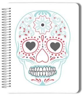 Modern Sugar Skull Journal