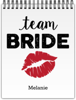 Team Bride Notebook