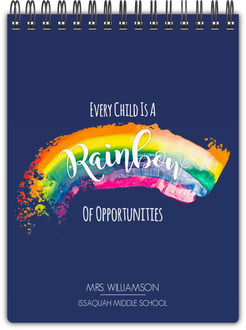 Every Child Is A Rainbow Notebook