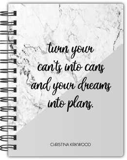 Dreams Into Plans Notebook