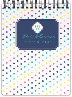 Simply Stunning Monogram Custom Notebook