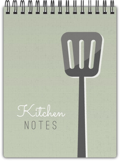 Vintage Kitchen Notebook