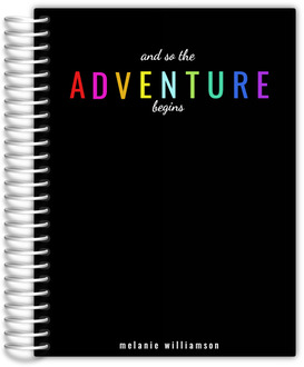 The Adventure Begins Custom Planner