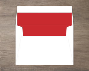 Classic Red Envelope Liner
