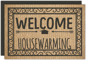 Welcome Rug Printable Housewarming Party Invitation