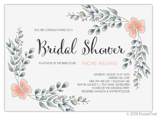 It is a picture of Printable Bridal Shower Invitations with lace
