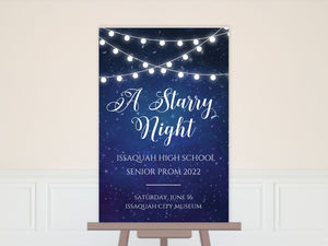 Decorative Lights Prom Poster