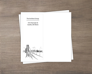 Architect Business Thank You Envelope