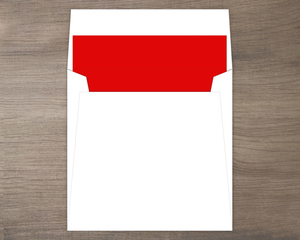 Catch Them All Red Envelope Liner