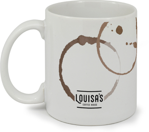 Coffee Stains Business Mug