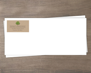 Landscaping Tree Business Envelope