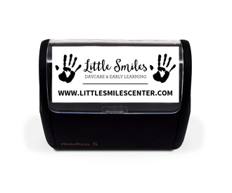 Simple Business Website Custom Stamp