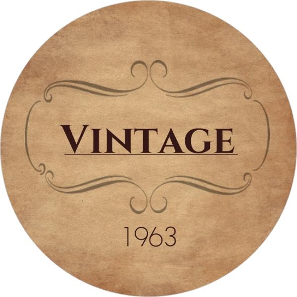 VINTAGE 1963 Circle 50th Birthday Invitation