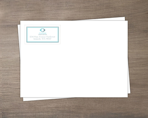 Simple Frame And Logo Business Envelope