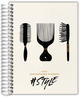 Style Hair Shop Custom Business Planner