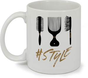 Style Hair Shop Custom Business Mug