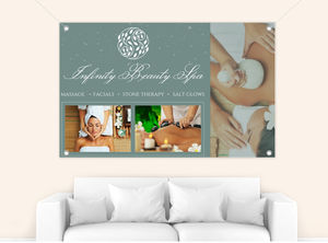 Beautiful Spa Photos Custom Business Banner