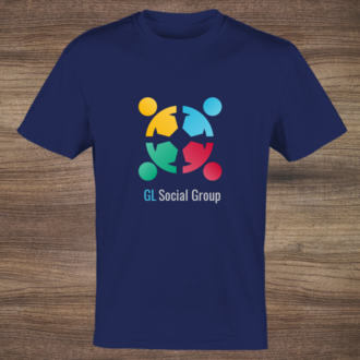 Logo And Slogan Business T-Shirt