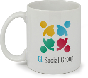 Logo And Slogan Custom Mug