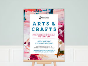 Arts & Crafts Event Business Poster