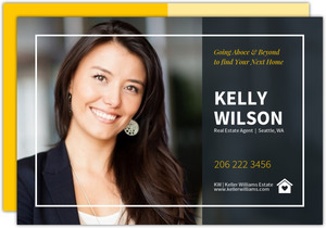 Real Estate Custom Business Postcard