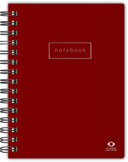 Simple Solid Color Business Notebook