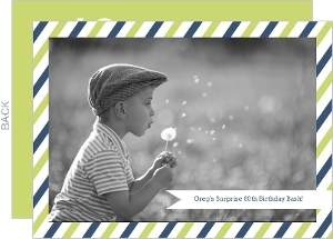 Postal Delivery 60th Birthday Invitation