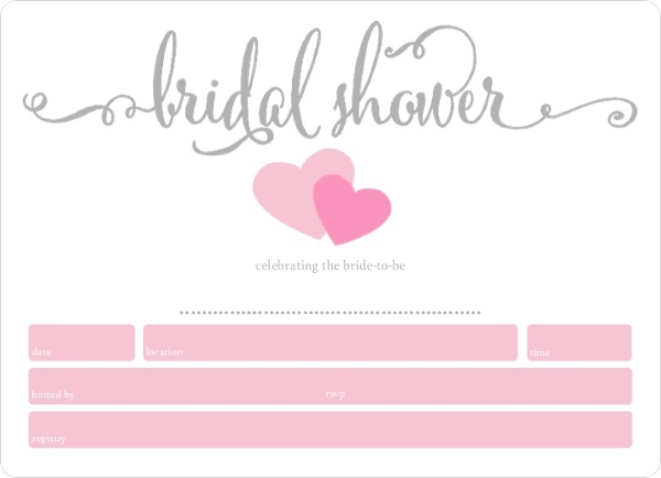 Simply sweethearts fill in the blank bridal shower invitation simply sweethearts fill in the blank bridal shower invitation filmwisefo
