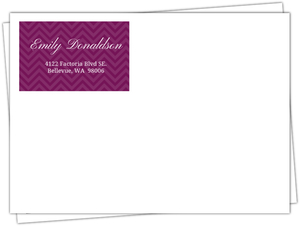 Purple Rn Doctor Full Envelope